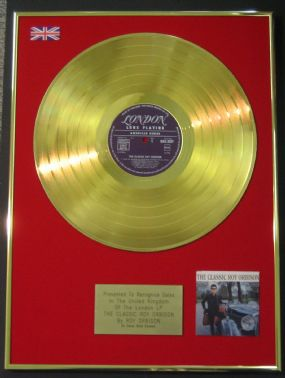 Roy Orbison - LP 24 Carat Gold Disc - The Classic Roy Orbison